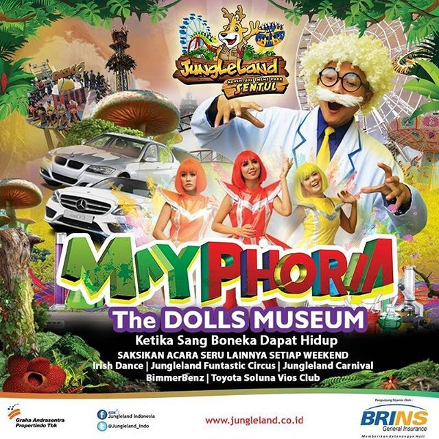 Welcome May!!! Inilah drama musical terbaru Jungleland!   The Dolls Museum, ketika sang boneka dapat hidup!!! www.jungleland.co.id  #jungleland #duniaceria #wahanaseru #bahagia