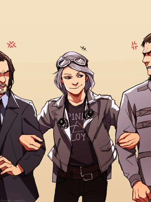 Quicksilver with Xavier and Erik.
