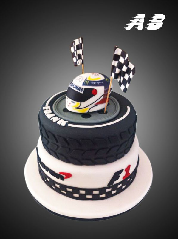Go Kart Birthday Cake Designs