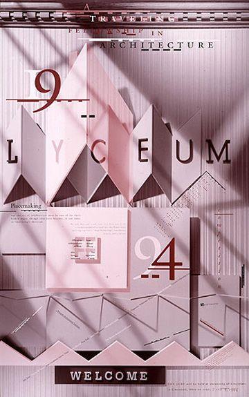 Lyceum 1994Skolos-Wedell Poster Portfolio