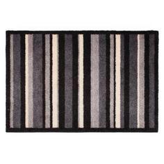 Eco Grey Stripe Printed Doormat