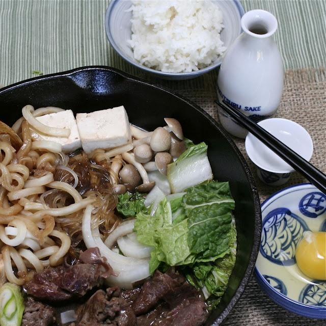 Gonna make vegetarian Sukiyaki this weekend with yam noodles.