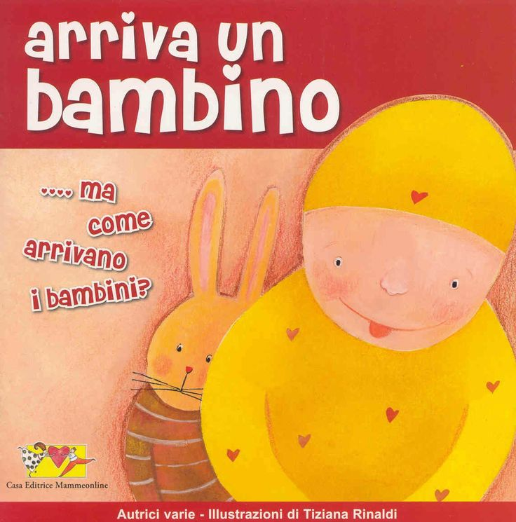 Arriva un bambino - book cover by Tiziana Rinaldi