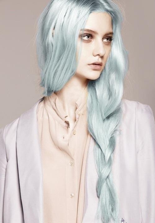 Mermaid Hair / teal / pastel / green / hair color / edgy ...