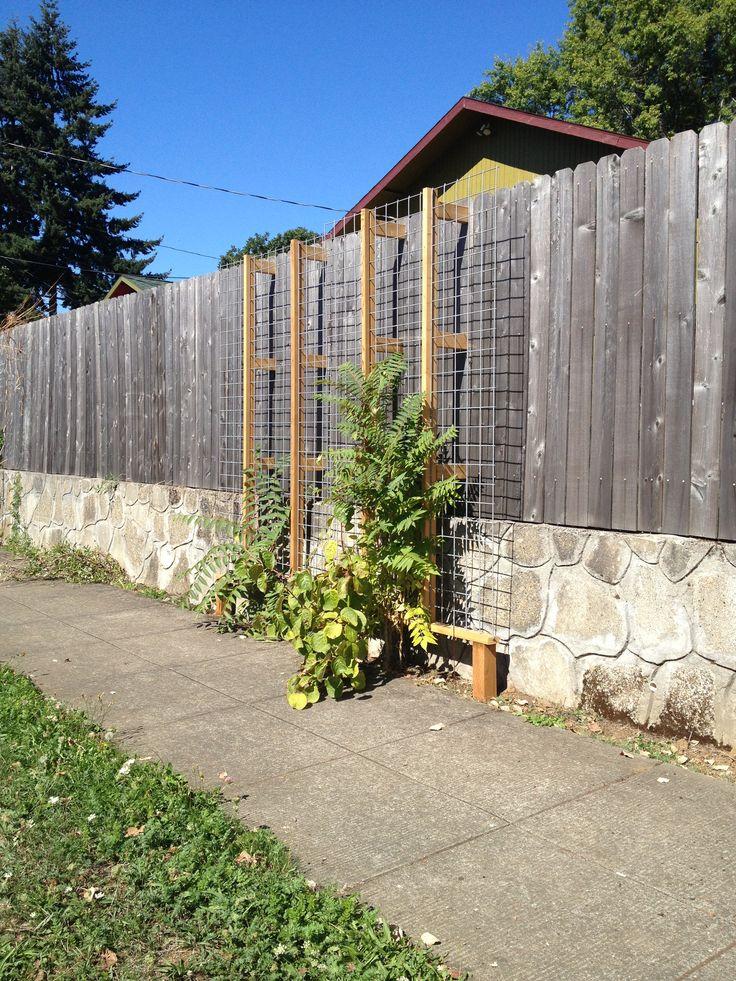 Sidewalk gardening