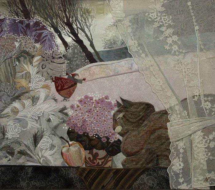 Уникальная тканая живопись Марины Принцевой. | Наслаждение творчеством