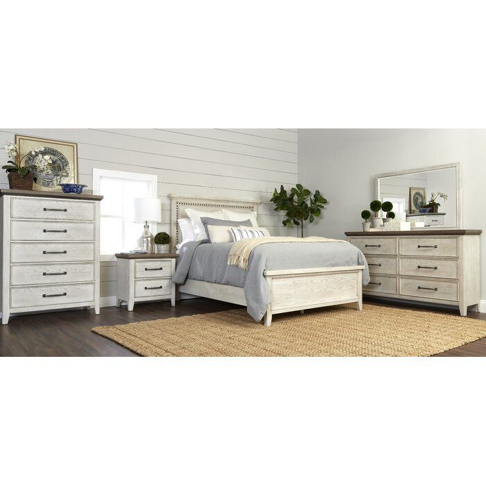 Gracie Oaks Pecora Upholstered Standard Configurable Bedroom Set Wayfair Bedroom Sets Bedroom Set White Bedroom Set