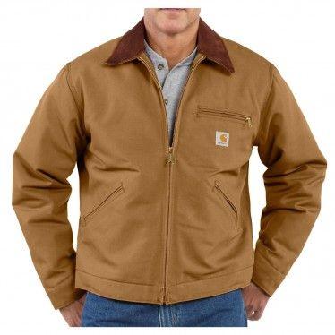 Carhartt Men's Duck Detroit Jacket - J001