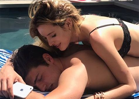 """Although Bella Thorne was basically juuuust canoodling with Scott Disick in Cannes, France, she vehemently denied that anything was going on between them in the romance department. """"Hahahah I'm not talking to Scott or anyone else,"""" she replied to a fan on Twitter shortly after pics of their vacay surfaced. Okay, so maybe Scella fizzled …"""