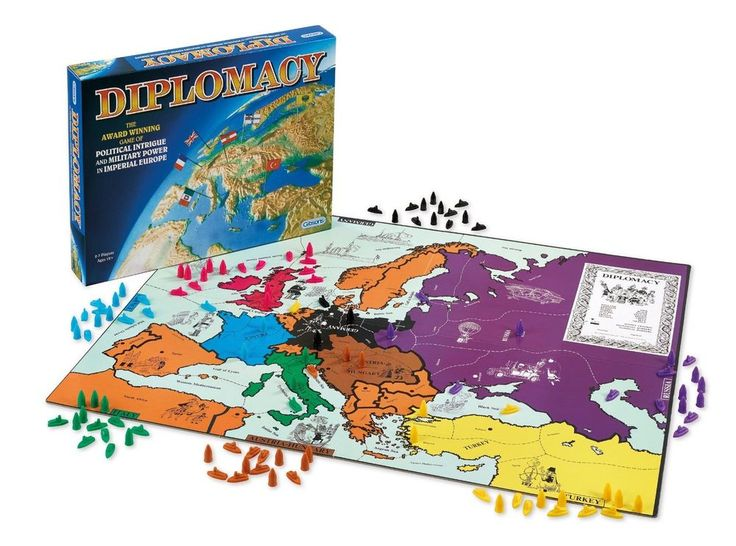 Diplomacy Board Game from Gibsons Games