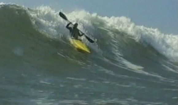 80s Kayak Surfing with the Tsunami Rangers