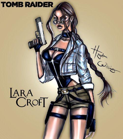 Imagen de lara croft, Angelina Jolie, and movie