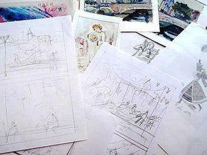 Что Рисовать? 11 Идей для Ежедневного Рисования.   Ярмарка Мастеров - ручная работа, handmade
