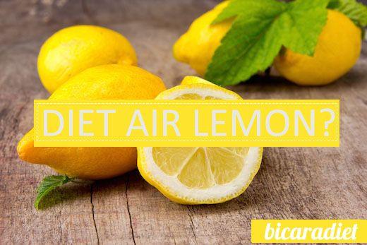 Cara menurunkan berat badan dengan lemon yang aman ...   begini caranya.