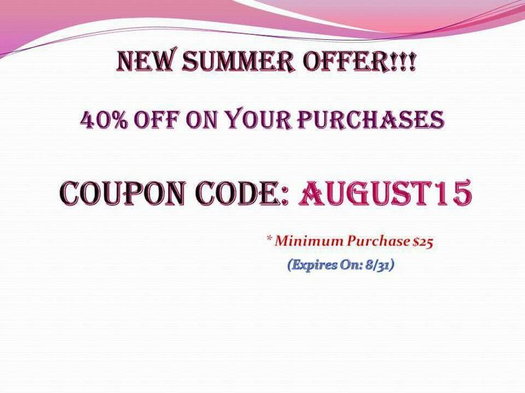 AUGUST OFFER!! 40% off on your purchases ....just use the coupon code AUGUST15  (Expires On: 8/31)  * Minimum Purchase $25 SHOP: https://www.etsy.com/shop/KaterinakiJewelry?ref=hdr_shop_menu #jewelry #accessories #summer_offer #discount #new_offer #august #coupon_code #etsy #etsyjewelry #etsyaccessories