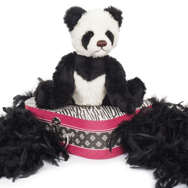 Panda Jolene 88.611.040 Panda Joelene is an adorable, soft and cuddly plush panda bear. She stands at 40 cm tall and is 5 fold jointed so she can move her arms, legs and head.  This is a delightful teddy bear for all ages. She has been lovingly made from Clemens of Germany - master teddy bear makers since 1948. Panda Joelene has rivited eyes. Panda Joelene conforms to both Australian and European safety standards and is ages 0-3 compliant.