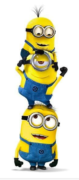 Minions - Basically why I watched Despicable Me 1 & 2...besides Agnes... ;)