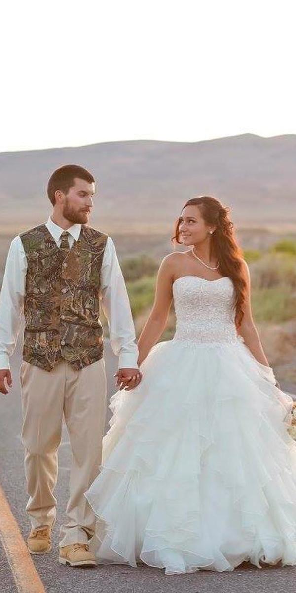 Pin On Camo Wedding Dresses