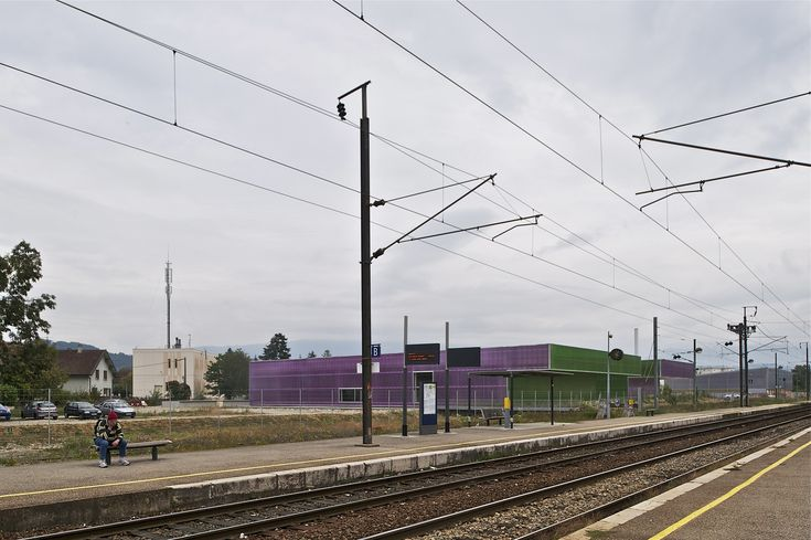 Monery Gymnasium,© Philippe Ruault