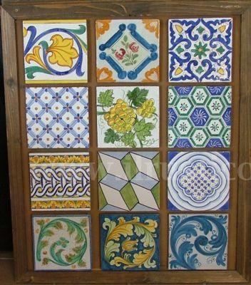 Pannelli in ceramica | ilrustico.com - cucine in muratura caltagirone