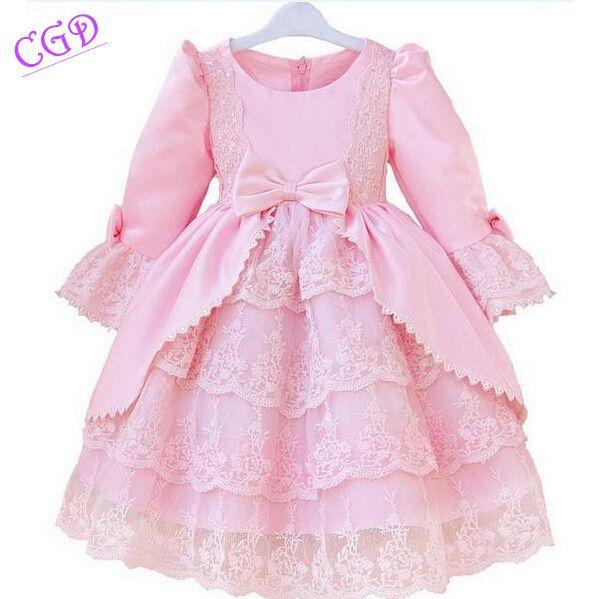2016 новых девушек золушка платья дети белоснежка принцесса платья рапунцель аврора дети ну вечеринку костюм одежда бесплатная доставка купить на AliExpress