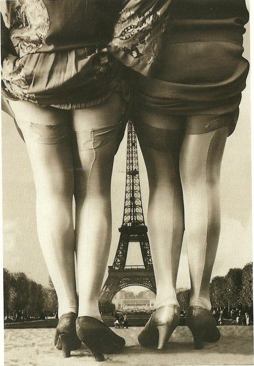 1920's French Postcard - @~ Mlle
