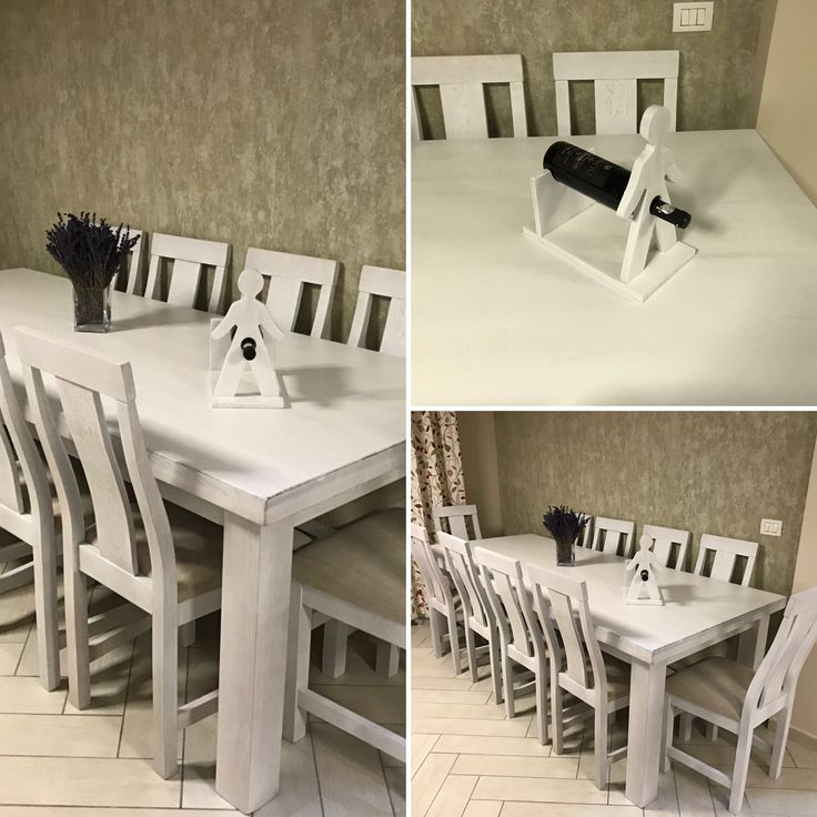 Dining room with custom table and chairs. We offer furniture for a perfect time with family and friends