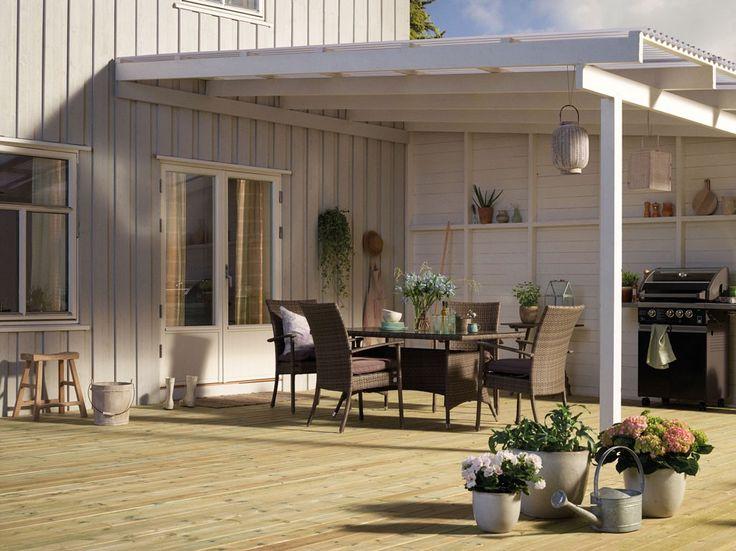 overbygg terrasse | Terasse Inspirasjon: Inspirasjon terrasse. Terrasse beiset med str?k ...