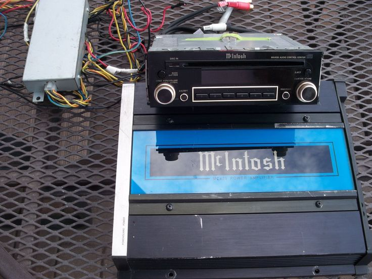 McIntosh Car Audio System
