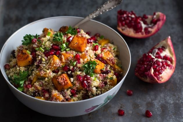 Roasted Butternut Squash Quinoa Salad is the quintessential Fall salad. And so good for you.