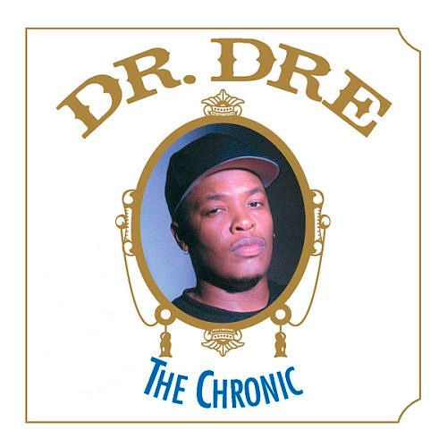 Dr. Dre, The Chronic (1992) - The 50 Best Hip-Hop Album Covers | Complex UK