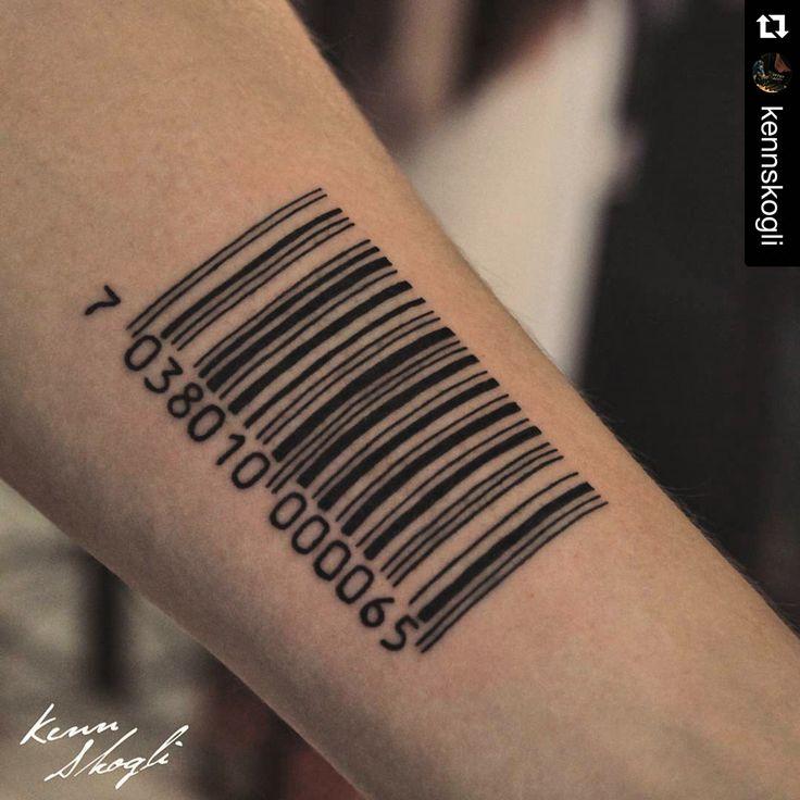 tattoo barcode