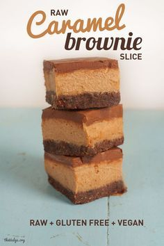 Love these easy slice recipes!  If you have a Cadbury Caramello chocolate block that you just don't know what to do with (no likely, we know), then try this CHOCOLATE CARAMELLO SLICE, it makes the perfect dessert to share http://bargainmums.com.au/chocolate-caramello-slice