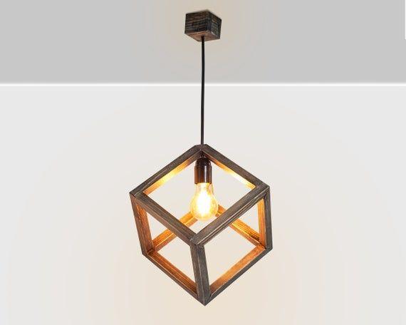 Wooden Hanging Lamp Pendant Lighting Wood Lamp Ceiling Lamp