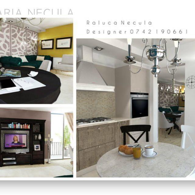 Aer boem in apartament, de ce nu?  ______________________________________________  #brasov #designinterior #classy #interior #design #play  #3D #positive #kitchen #bucatarie #colors #white #esmerald #classic #modern #furnituredesign NECULA RALUCA MARIA DESIGNER INTERIOR BRASOV RALU.NEC@GMAIL.COM
