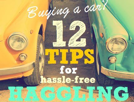 Buying a car | 12 tips for hassle-free haggling