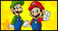 How to Draw Mario Bros