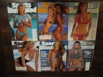 Sports Illustrated  Swimsuit Edition - Lot of 6   Lot of 6 Sports Illustrated Swimsuit Edition; cover models include: Daniela glistens in Bermuda February 20, 1995(special double issue), Valeria Mazza & Tyra Banks, January 1996, Tyra Banks-Winter 1997, Heidi Klum-Winter 1998, The not so Virgin islands Winter 1999, Daniela takes the plunge in MalaysiaWinter 2000.  $24.95