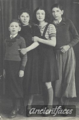 Fanny and Cham Burzny Nationality : Polish Jewish  Residence : Sokolow,Sokolow Masovian Poland  Death : August 19, 1942  Cause : Murdered in Auschwitz ( buried in Auschwitz death camp )  Age : 13 years, 12 years
