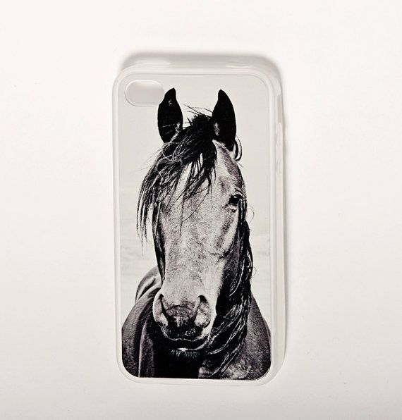Horse iphone case for 4/4s durable Rubber iphone by ApplesAndOats, $35.00