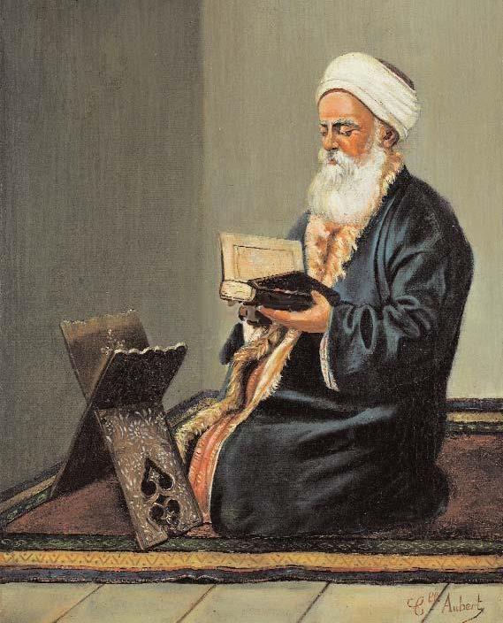 [Ottoman Empire] An Ottoman Old Man Reading Quran (Bir Osmanlı Dedesi Kuran Okurken)