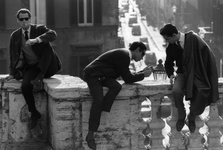 Italy. Rome. 1964 // bruno Barbey
