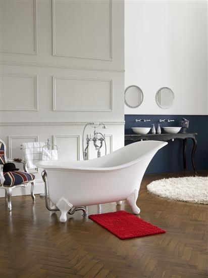 La vasca Dryton di ispirazione Vittoriana – Victoria   Albert anteprima Cersaie 2013