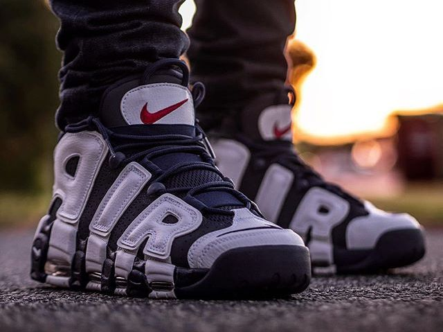 Nike Air More Uptempo 'Olympic Rio 2016' Scottie Pippen
