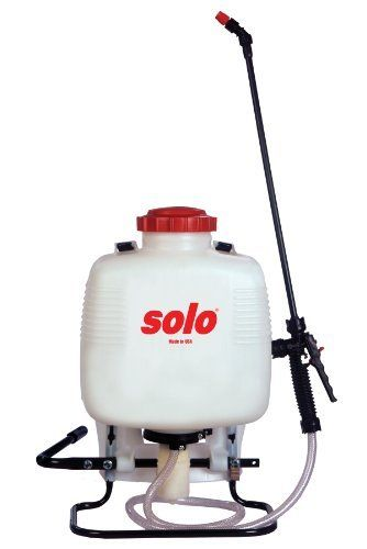 Solo 473-P 3-Gallon Professional Backpack Sprayer by Solo. Save 6 Off!. $94.13. 3-gallon capacity; 28-inch unbreakable wand and commercial shut-off valve for excellent reach; Produces pressure up to 90 psi; 48-inch nylon-reinforced high-pressure hose for extended reach; Includes 4-nozzle assortment for multiple spraying tasks. Rugged Solo 473-P backpack sprayers are designed for jobs both large and small. Solo 473-P professional backpack sprayers are equipped with a piston...