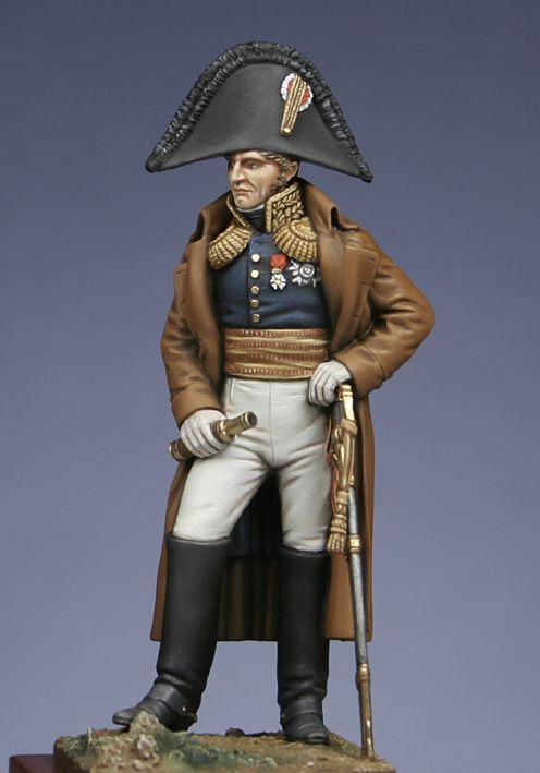 Conte Jean Compans, generale di divisione francese