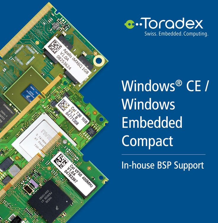 Windows Embedded Compact Is A Windows For Embedded Systems Toradex Offers In House Windows Embedded Compact Bsp Support With Free Pr Windows Ce Windows System