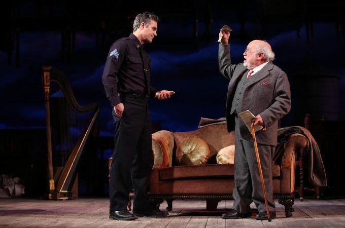 Mark Ruffalo, Danny DeVito, Jessica Hecht, and Tony Shalhoub star in the Arthur Miller drama The Price