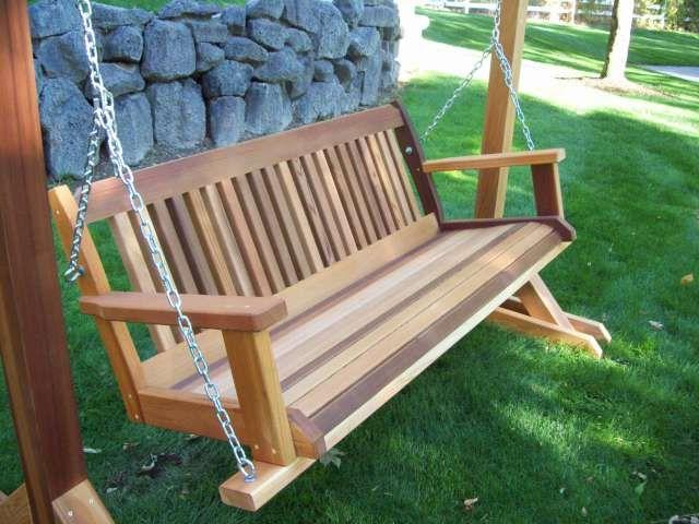 35 Inspiring Hanging Porch Swing