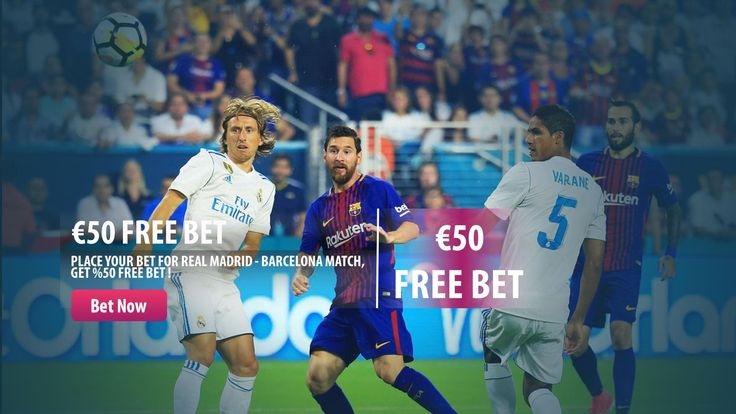 Place your bet, get your %50 Free Bet for EL CLASSICO !  We are offering you the chance to claim  a €/£50 free sports match bet when you place your bet on Real Madrid vs Barcelona.  #elclassico #realmadrid #barcelona #parasino  http://www.parasino16.com/en/promotions/el-classico-bonus-2017